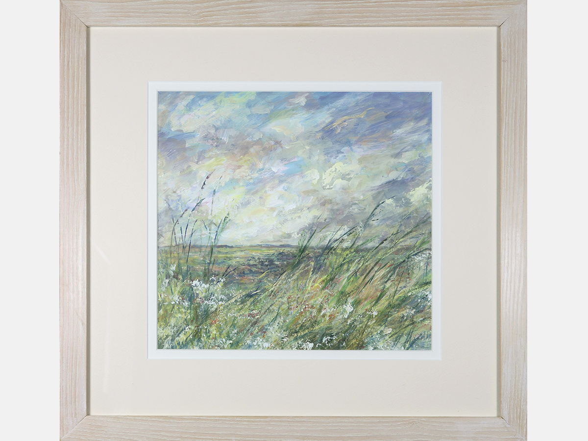 Mike Jones, Contemporary Landscape, British School Acrylic, Framed